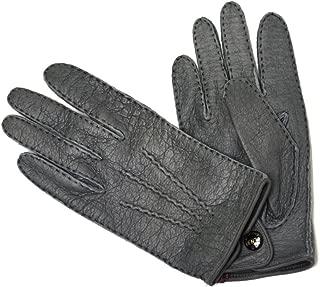 DENTS【デンツ】手袋/グローブ 15-1043 GREY Peccary&No lining(グレー ペッカリー)