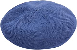 レディースベレー帽、フレンチビーニーキャップ - カジュアルクラシックソリッドカラーベレー帽パーティーアーティストキャップ