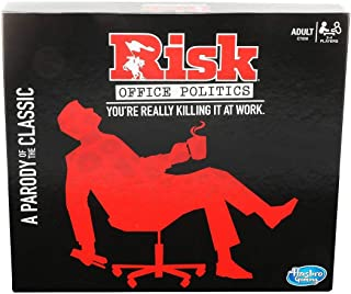 RISK Office Politics Board Game Parody Adult Party Game