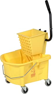 Continental 226-312YW, Yellow Splash Guard Combo Pack Bucket with 3
