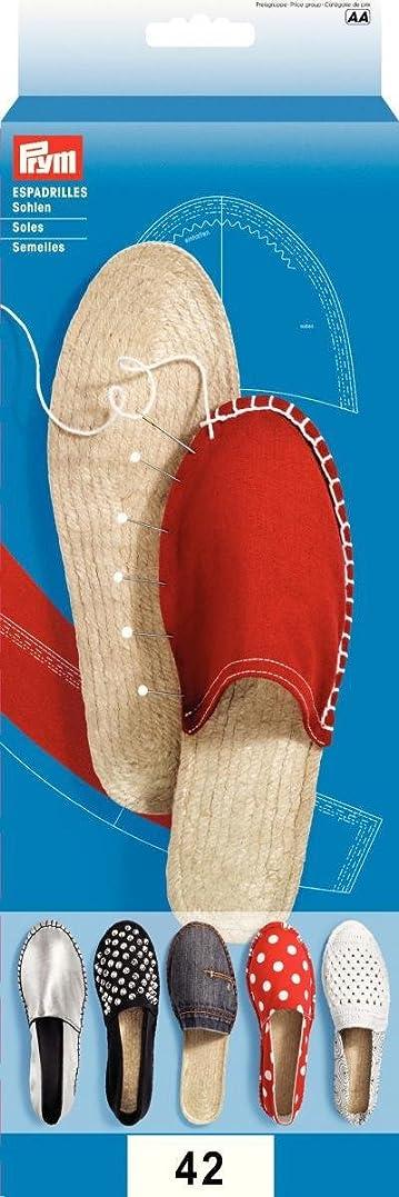 好きストラップ特殊PRYM 1ペア エスパドリーユ-靴サイズ42 (UK 8)