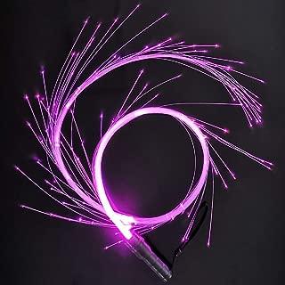 CHINLY Fiber Optic Peitsche Fiber Optic Dance Peitsche Super Bright Light 49 Farbeffektmodus Geeignet für Tanzen, Partys, Lichtshows, EDM-Musikfestival