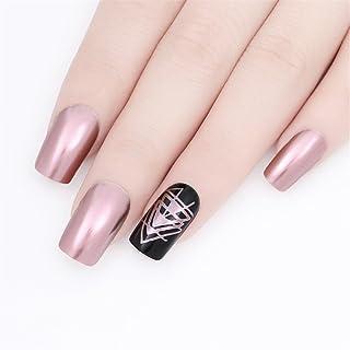 Nacido Pretty 9ml Esmaltes de Uñas Arte Espejo Metálico morado oro rosa plateado Gorgeous Metal brillante barniz lacado
