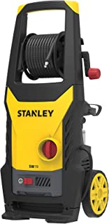 STANLEY 1900Watt 130 Bar,402 L/hr Flow Rate Industrial Grade Pressure Washer with Induction Motor (Yellow & Black)