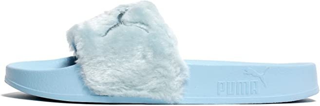 PUMA Women's Fenty x Faux Fur Slides
