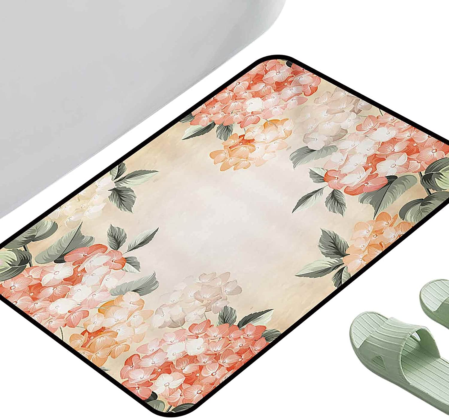 Max 46% OFF Printed Mats for Children Bedroom Flow Hydrangea Blooming Floral Store