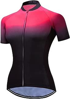 Mountain Bike Jersey Women, Women's Cycling Jersey Biking Shirt Jacket Tops, Comfortable Quick Dry
