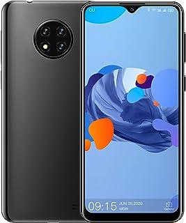 OUKITEL C19スマートフォン本体 4Gスマホ本体 simフリースマートフォン本体 6.49 HDインチ 13MP+2MP+2MP 4000mAh RAM 2GB + ROM16GB(256GBまでサポートする) Android 10.0 端末 携帯電話 技適認証済み 1年間保証付き (ブラック, 2+16GB)