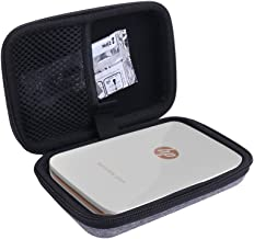 Hard Case for HP Sprocket Plus, Instant Photo Printer fits Large 2.3x3.4 Sticky Paper by Aenllosi (Gray)