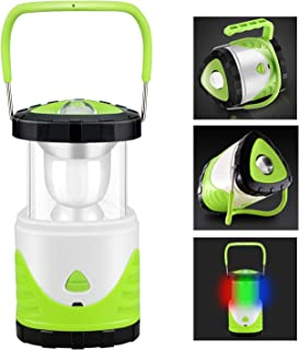 Number-one Camping Lantern Rechargeable Tent Light Collapsible Torch Lamp 500 Lumen with Multiple Color Light and SOS Mode for Hiking, Camping, Emergencies, Outages