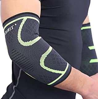 Forearm Compression Sleeve for Football & Contact Sports, Moisture Wicking to Keep You Dry & Cool, Includes 2 Sleeves