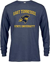 East Tennessee State University Buccaneers ETSU Distressed Retro Logo Short Sleeve T-Shirt