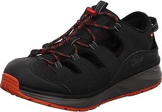 JOYA Mens Como II Leather Textile Shoes