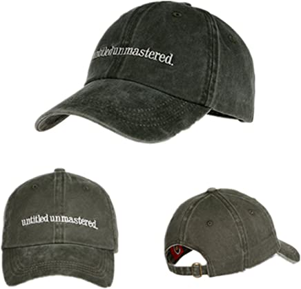 ef92f7da TOODOO Untitled Unmastered Embroidery hip hop Dad Hat Rap Brand Baseball Cap