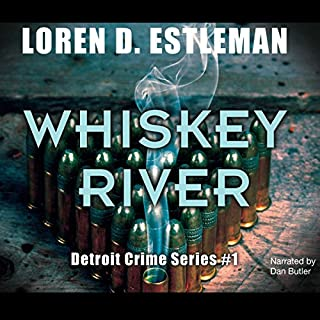 Whiskey River audiobook cover art
