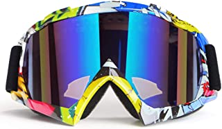 Motorcycle Goggles ATV Goggles Motocross Goggles Windproof Dirt Bike Goggles Dustproof Off Road Goggles Scratch Resistant ...