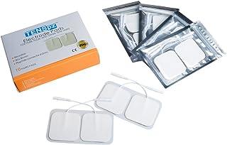Tens pz 粘着パッド 低周波用 5 * 5cm電極パッド ,5袋,4枚入り/袋