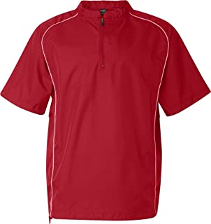 Rawlings 9702 - Short Sleeve Quarter-Zip Pullover