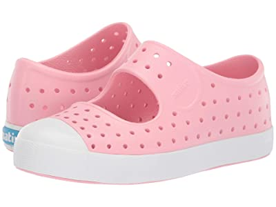 Native Kids Shoes Juniper (Little Kid) (Lantern Pink/Shell White) Girls Shoes