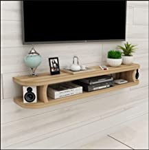 Yxsd Floating Shelf Wall-Mounted Floating TV Stand TV Console TV Cabinet Media Console Audio/Video Console Open Storage Ra...
