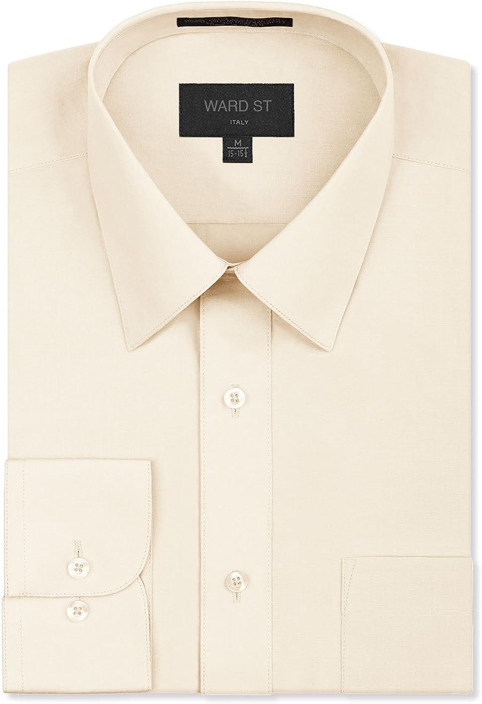 Ward Special sale item St Men's Regular Dress Fit Shirts Branded goods