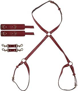 Sex Bondage BDSM Kit Fesselset für Paare Modisches Fesseln Sexspielzeug für Frauen für Sie mit 2 Handgelenksmanschetten un...