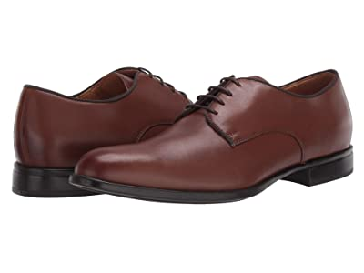 Geox Iacopo (Cognac Smooth Leather) Men