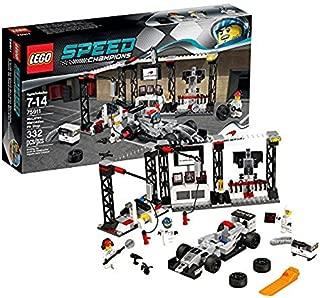 LEGO Speed Champions McLaren Mercedes Pit Stop 75911