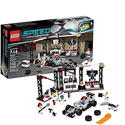 LEGO Speed Champions - 75911 - Jeu De Construction - L'arrêt Au Stand McLaren Mercedes