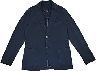 CIRCOLO(チルコロ) ストレッチジャケット メンズ シングル2つ釦ジャケット ネイビー 正規取扱店