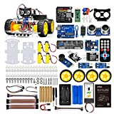 OSOYOO Robot Car Starter Kit for Arduino | Stem Remote Controlled Educational Motorized Robotics for Building Programming Learning How to Code | IOT Mechanical DIY Coding for Kids Teens Adults