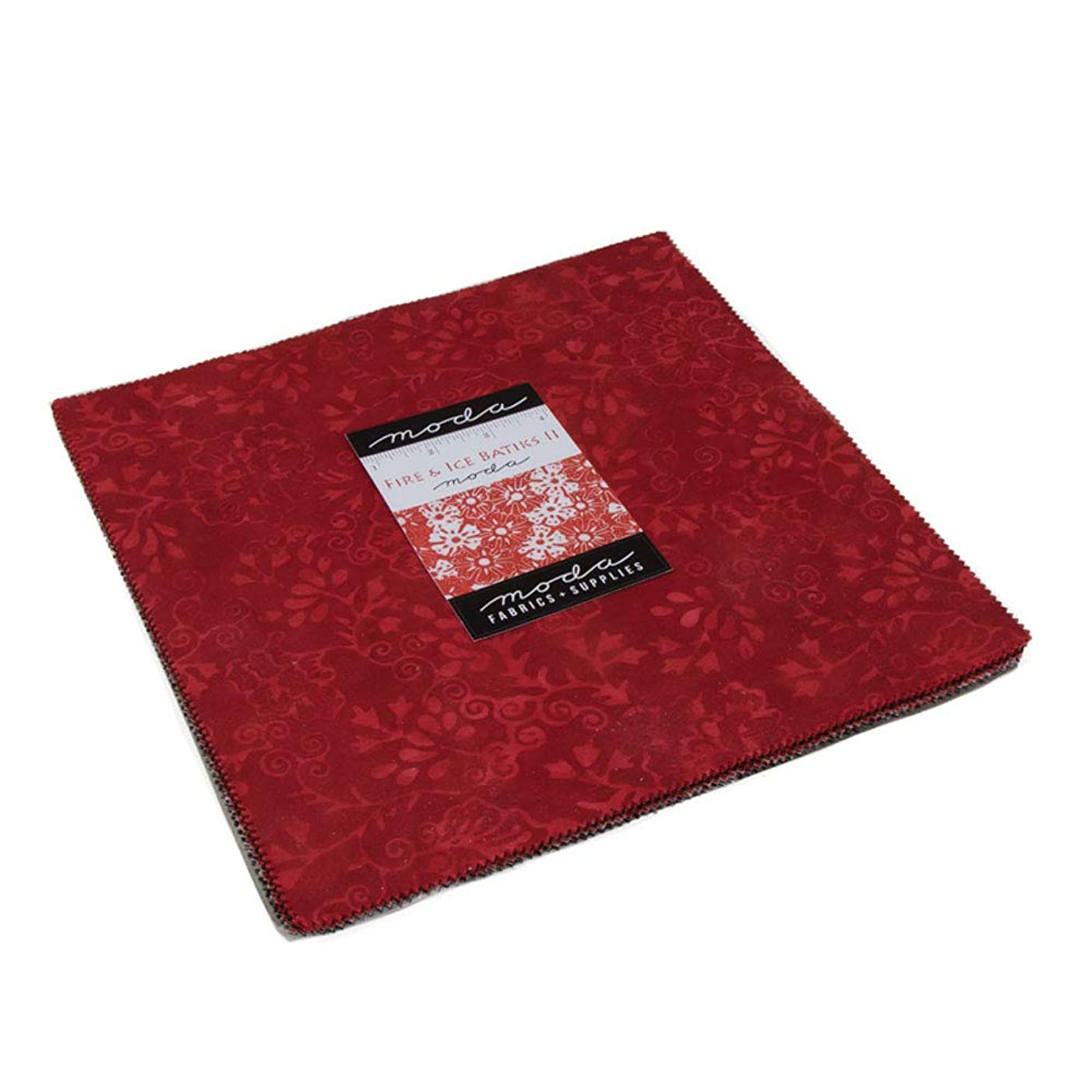 Fire & Ice Batiks Layer Cake 42 10-inch Squares Moda Fabrics 4350LC