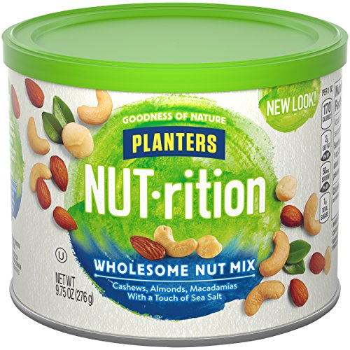 Planters Mixed Nuts, Wholesome Nut Mix, 9.75 Ounce (Pack of 3)