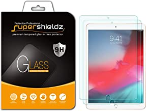 (2 Pack) Supershieldz for Apple iPad Air 10.5 inch (2019 Model, 3rd Generation) and iPad Pro 10.5 inch Screen Protector, (Tempered Glass) Anti Scratch, Bubble Free