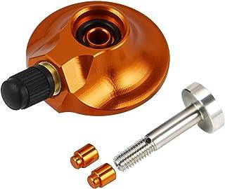 MSFDOG Achterafhanggasklep 58 mm en 64 mm voor 85 125 SXF EXC XC XC-F XCW XCF-W XCW voor stikstofgasvulmotorfietsdelen (Co...