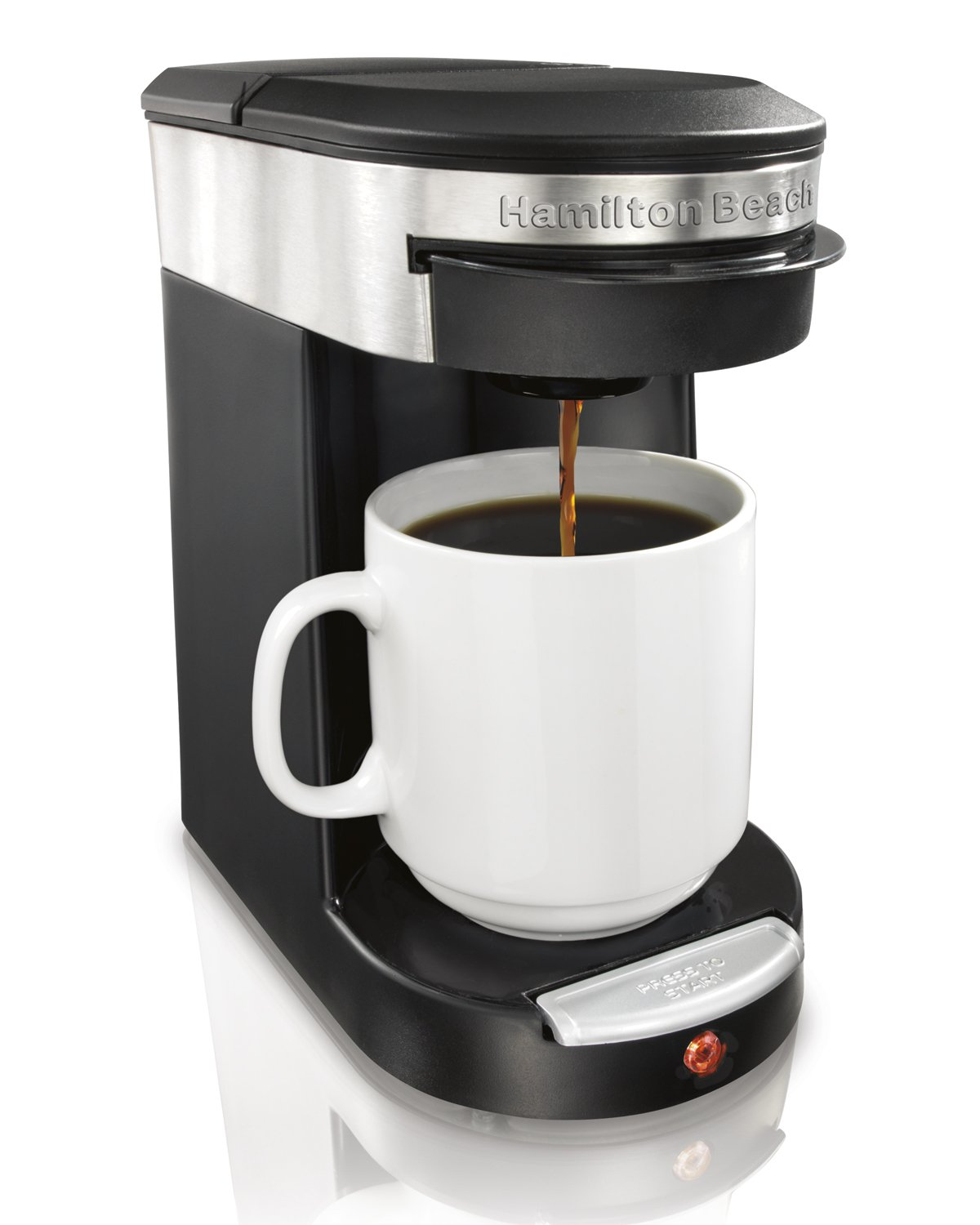 Hamilton Beach Personal Cup One Cup Pod Brewer