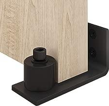 EaseLife Heavy Duty Sliding Barn Door Floor Guide,Adjustable Roller,Wall Mount System,Floor and Door Panel Non-Damage,Sturdy,1 Pcs