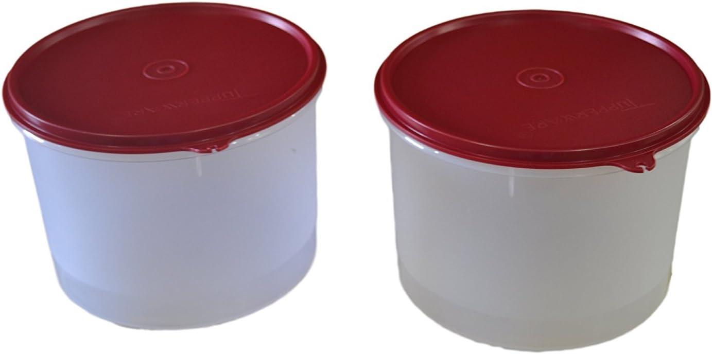 Tupperware Super Storer Plastic Container Set, 2.5 Litres, Set o