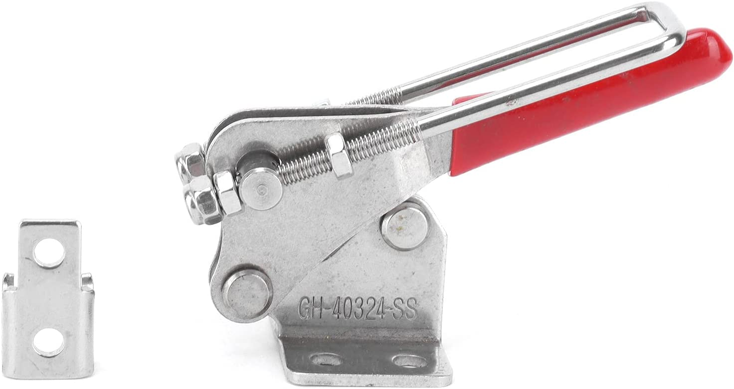 GHMOZ Woodworking clamp Lock Stainless Steel Buckle -40324-SS To