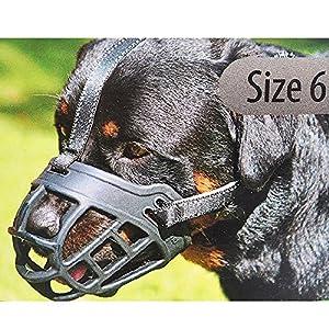 Zantec Chien Panier Silicon Muselières pour les aboiements mastication et piqûres d', permet de boire et Haleter Creative Panier Cage Muselière pour petits chiens de taille moyenne et grande Noir