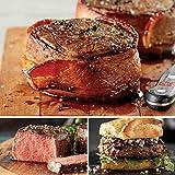 Filet Mignon Sampler from Omaha Steaks (Bacon-Wrapped Filet Mignons, Butcher's Cut Filet Mignons, and Filet Mignon Burgers)