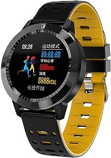 WF Pulsera Actividad Inteligente Hombre Correas, Smart Watch Pulsera Inteligente Impermeable Ip67 Pantalla Color Podómetro Pulsómetro Monitor De Calorías SMS SNS iOS Android