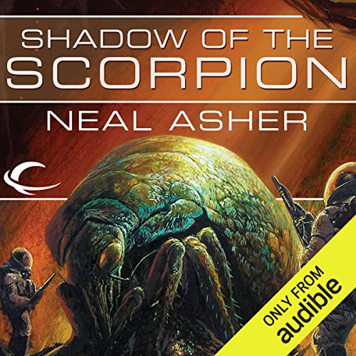 Shadow of the Scorpion     A Novel of the Polity              By:                                                                                                                                 Neal Asher                               Narrated by:                                                                                                                                 David Marantz                      Length: 9 hrs and 32 mins     131 ratings     Overall 4.3