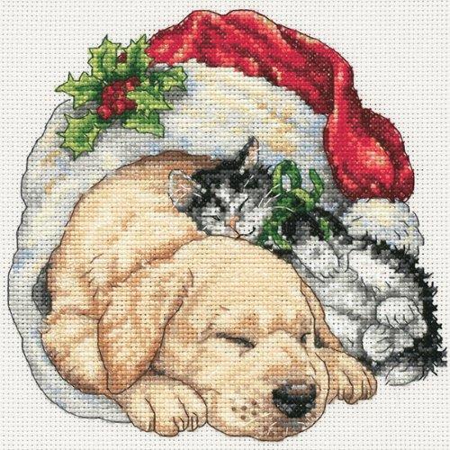 Dimensions,  Contato punto croce -6 'X 6' Animali Natale
