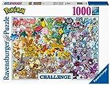 Ravensburger-Pokémon Challenge 1000 Teile Erwachsenenpuzzle Puzzle Piezas Fantasy, Color 1, 0 (15166)