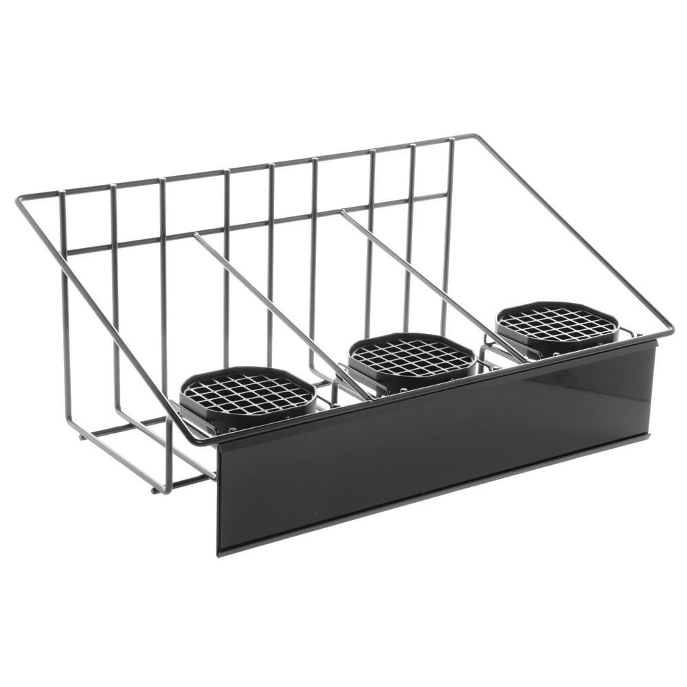 HUBERT Airpot Coffee Dispenser Rack Excellent with Drip Ai Trays Easy-to-use for Three