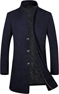 APTRO(アプトロ)コート メンズ チェスターコート 冬 上質仕様 ビジネスコート オシャレ ロング丈 ウール 男性コート