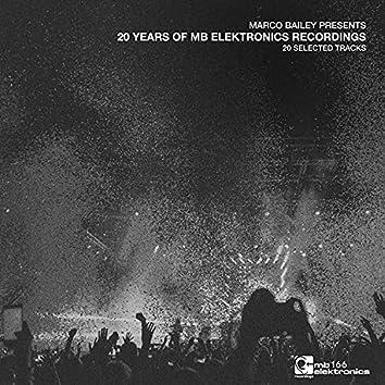 Marco Bailey presents: 20 Years Of MB Elektronics