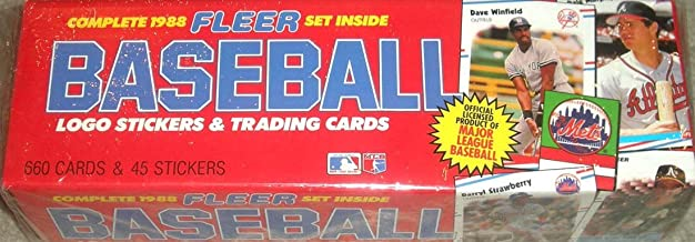 1988 fleer baseball cards box