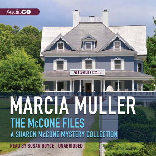 The McCone Files audiobook cover art